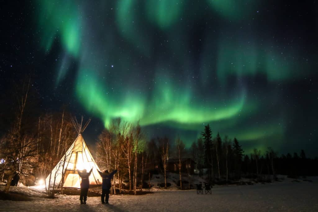 Aurora-Village-Yellowknife-Northwest-Territories-Canada-Aurora-Borealis-Northern-Lights-teepees-Credit-Julian-0B2A1781