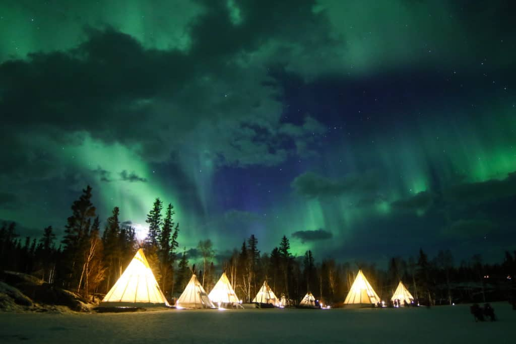 Aurora-Village-Yellowknife-Northwest-Territories-Canada-Aurora-Borealis-Northern-Lights-teepees-Credit-Julian-0B2A2366